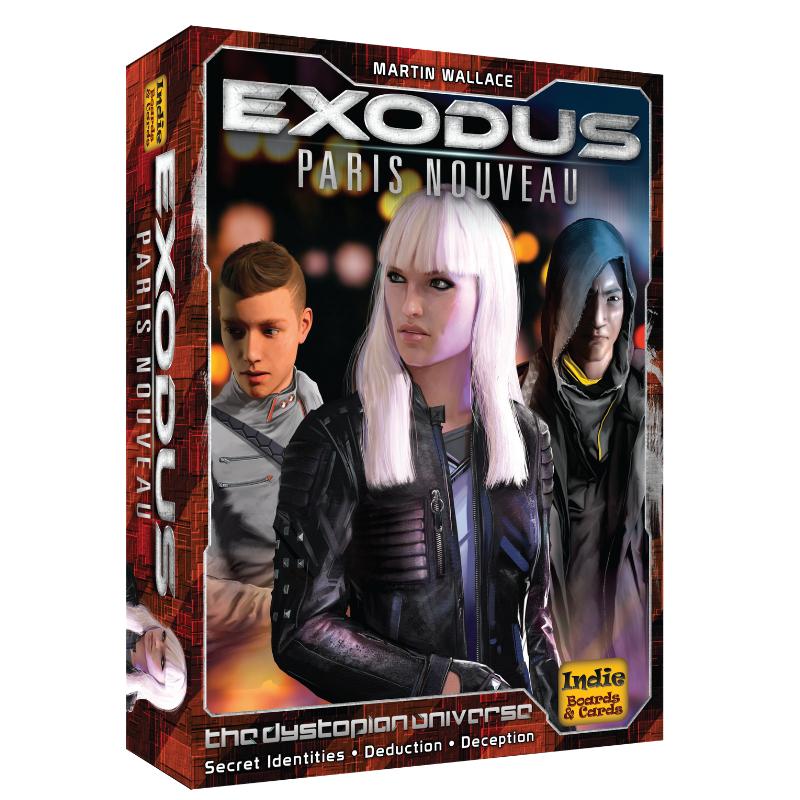 Exodus Paris Nouveau -  Indie Boards and Cards